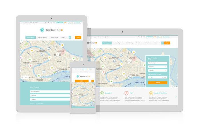 tema Business Finder ustanovit 700x466 Как Создать Сайт Самому Бесплатно С Нуля   Пошаговая Инструкция
